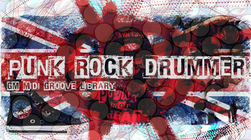Punk Rock Drummer MIDI Groove Library